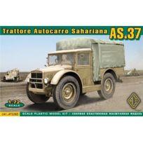 Ace Authentic - Ace 72283 Tarttore Autocarro Saharaina As37 1:72 Plastic Kit Maquette