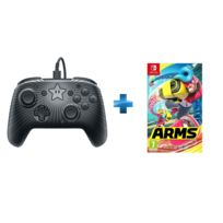 PDP - Manette filaire Mario Star - Switch + Arms - SWITCH