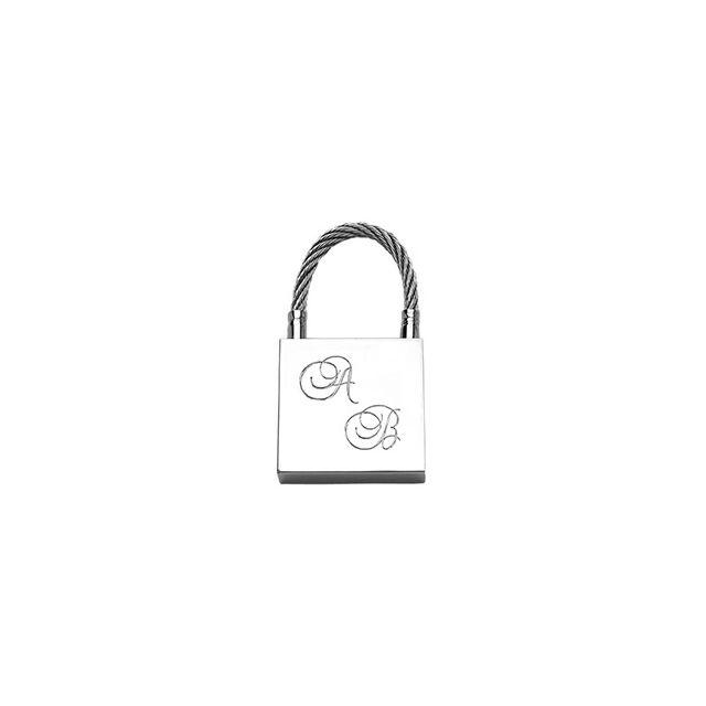 1001BIJOUX - Porte-clefs cadenas acier - pas cher Achat   Vente ... 21ae6cce1cd