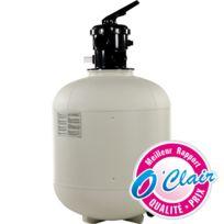 Piscine Center O'CLAIR - Filtre a sable piscine polyclair plus top ø t500 - 9 m³/h