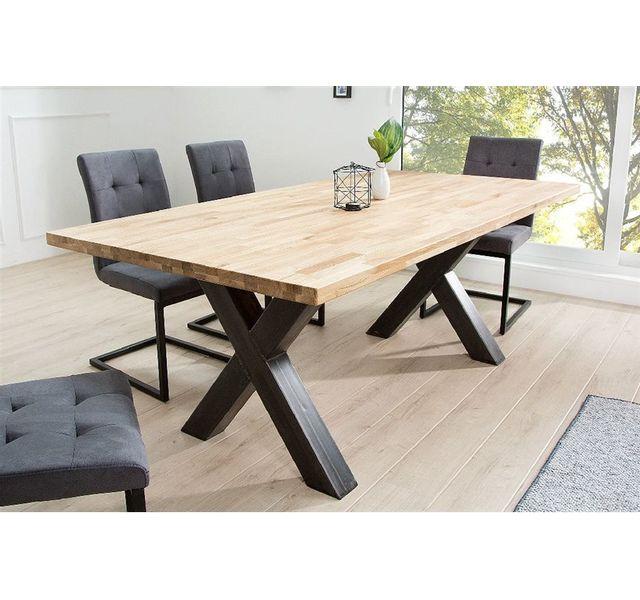 DESIGN Bois CHLOE clair à design manger AEDAN Table IV nmwvNO80