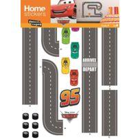 NOUVELLES IMAGES - Sticker mural Cars circuit voiture