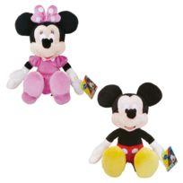 Simba-Dickie - Mickey - Peluche Mickey ou Minnie 43 cm