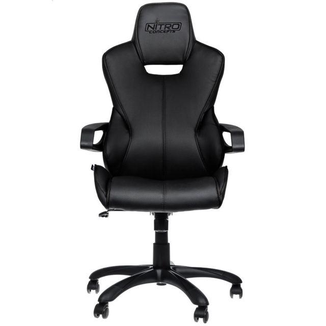 NITRO CONCEPTS E200 Race - Noir Fauteuil Gaming Nitro Concepts E200 Race - Noir