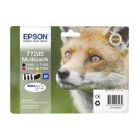 Epson - Pack de cartouche d'encre - C13T12854020 - Couleur + Noir
