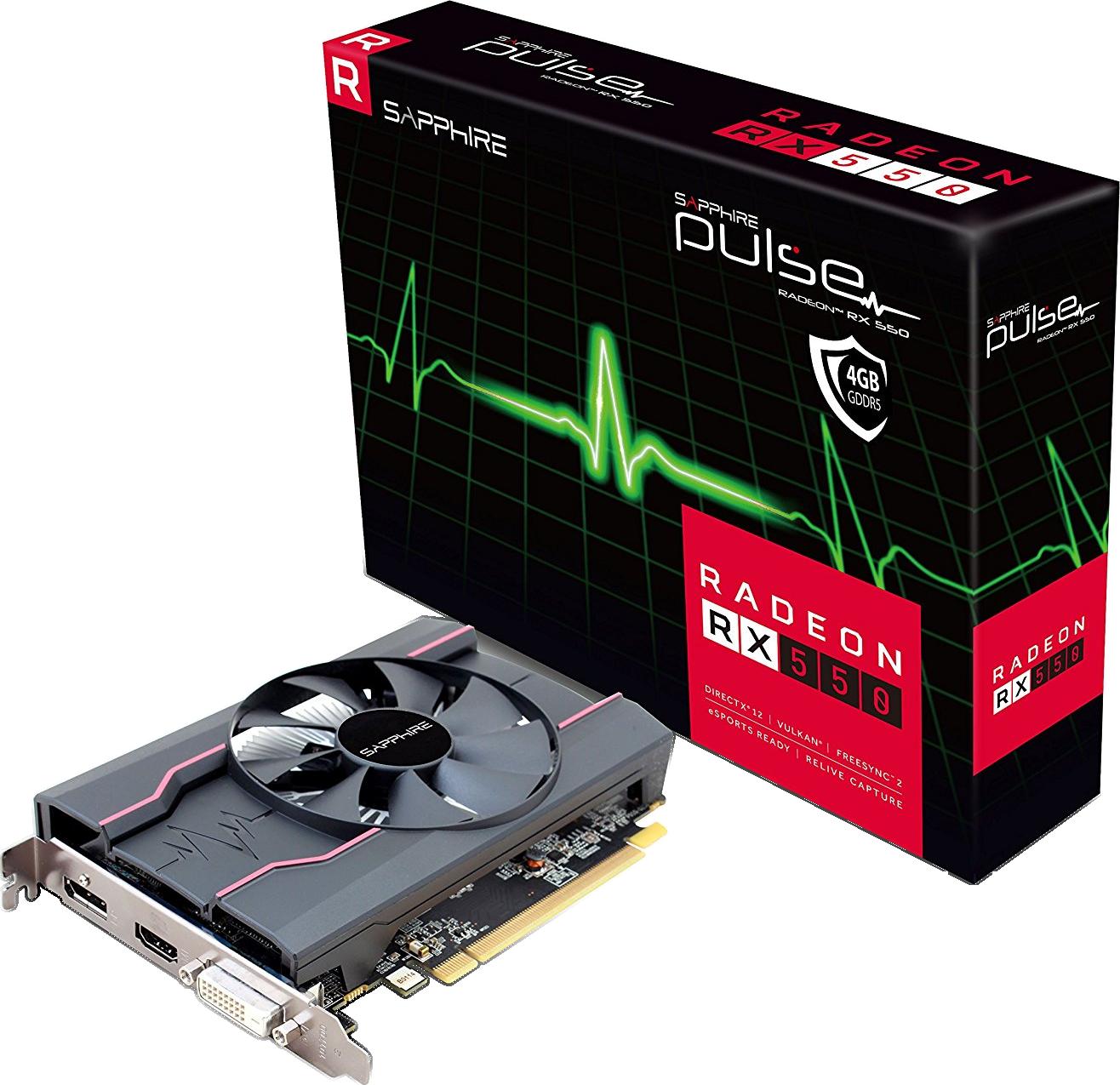 Carte graphique Radeon RX550 Pulse