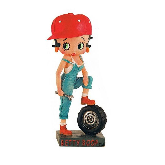 Collection N/°24 Betty Boop Figurine Betty Boop Ma/îtrenageuse
