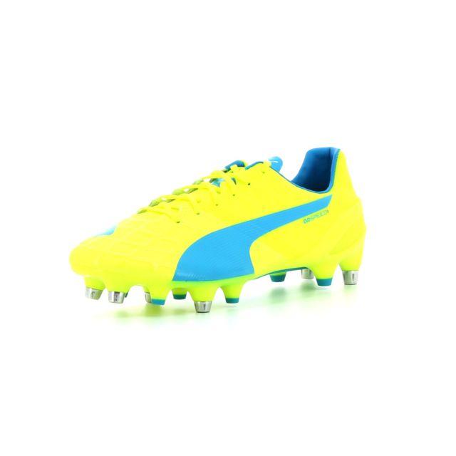 13ec10ff603b Puma - chaussure de football Evospeed 1.4 Mixed Sg Jaune - 46 - pas ...