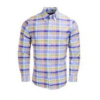 Ralph Lauren - Chemise à carreaux multicolore pour homme
