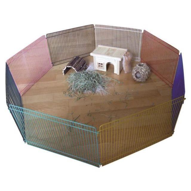 Icaverne ENCLOS - CHENIL Enclos 8 pieces 34x23cm - Pour hamster