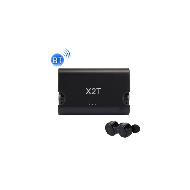 Auto-hightech écouteur stéréo universel Binaural sans fil Bluetooth, mini écouteur isolation intra-auriculaires avec une boite de char