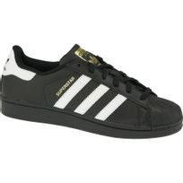 Adidas - Superstar B23642 Enfant mixte Baskets Noir