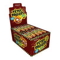 Verquin - 150 Bonbons Sticks Tetes Brûlées Cola