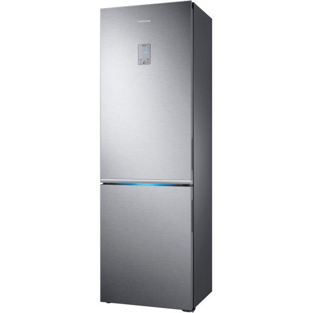 Samsung réfrigérateur combiné 60cm 344l a++ nofrost inox - rb34k6032ss