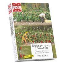 Busch - Hornby France 1214 - Circuit - Train - Plants De Concombres Et Tomates