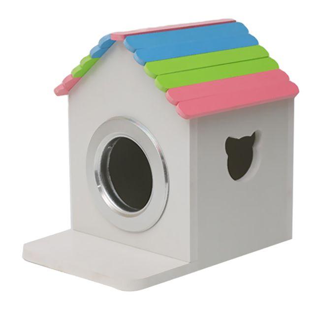 Maison de nidification en bois pour animaux domestiques