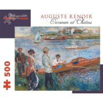 Pomegranate - Pierre Auguste Renoir - Oarsmen At Chatou: 500 Piece Puzzle