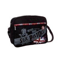 Sex Pistols - Sac Reporter 38 x 28 x 12 cm - Noir