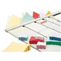 ACCO - 1900403 - bande planning en métal - 54 fentes pour indice 2
