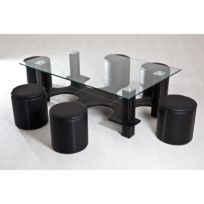 Table basse en verre - Achat Table basse en verre pas cher - Rue du ... d24855135ede