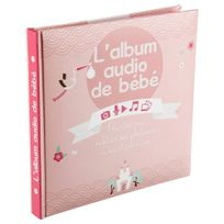 Atmosphera - Livre Audio Bébé 16 pages fille