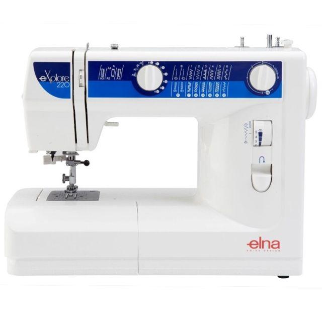 Elna Machine à coudre eXplore 220 - Garantie 2 ans
