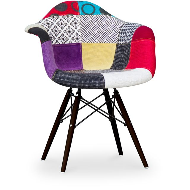 Privatefloor Chaise Daw Charles Eames - Style - Patchwork