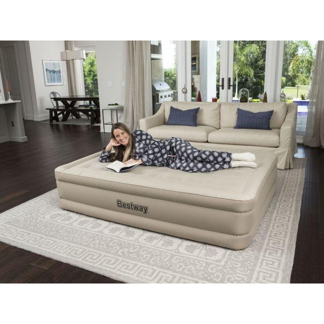 bestway refined fortech matelas gonflable 2. Black Bedroom Furniture Sets. Home Design Ideas