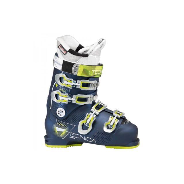 Tecnica - Chaussure De Ski Mach1 95w Mv Blue Night Bleu Nuit - 23,5