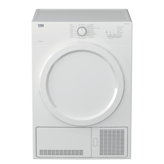 beko s che linge condensation 60cm 8kg b blanc db8131paow achat s che linge condensation b. Black Bedroom Furniture Sets. Home Design Ideas