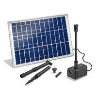 Esotec - Kit pompe solaire bassin ou fontaine Siena