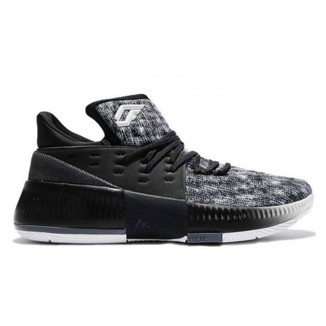 huge selection of a24a2 c69fc Adidas - Chaussures de Basketball adidas Dame 3 noir blanc pour homme  Pointure - 46