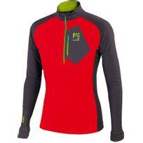 Karpos - Roccia - T-shirt manches longues - gris/rouge