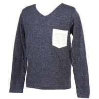 Biaggio - Tee shirt manches longues Lardil grey ml tee jr Gris 51815