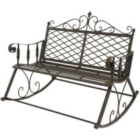 rocking chair jardin achat rocking chair jardin pas cher rue du commerce. Black Bedroom Furniture Sets. Home Design Ideas