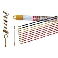 Super Rod - Crsd Kit Tiges De Guidage Kit D'INSTALLATION Avec CÂBLE 10M Et 7 Attaches