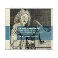 Challenge Records - Bach : Six partitas pour clavecin, Bwv 825-830. Koopman
