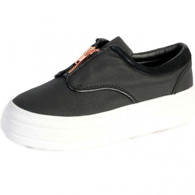 a74af7ca534e90 Eleven Paris - Chaussures Posh Noir - pas cher Achat / Vente Baskets ...