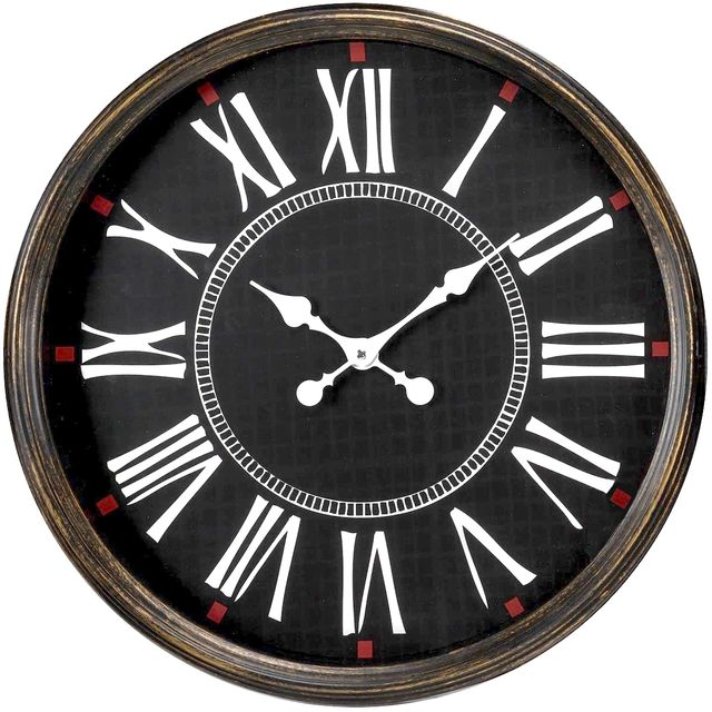 promobo horloge murale pendule g ante bistrot chiffres. Black Bedroom Furniture Sets. Home Design Ideas