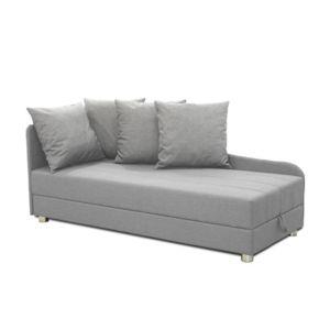inside 75 m ridienne lit coffre joy en tissu gris clair. Black Bedroom Furniture Sets. Home Design Ideas