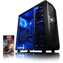 VIBOX - Processeur CPU AMD FX Quad Core - GPU Nvidia GeForce GT 710 2 Go - 8 Go RAM - Disque Dur 1 To - Pas de Windows