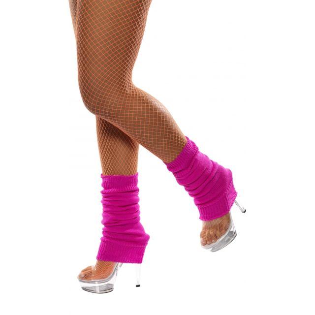 affec194d0 Marque Generique - Chaussettes de danse fluo couleur fushia. Couleur : Rose