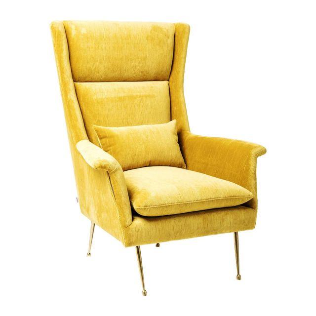 Karedesign Fauteuil Vegas Forever jaune Kare Design