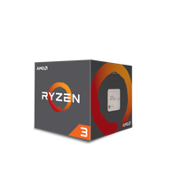 AMD - RYZEN3 1300X with Wraith Stealth Cooler