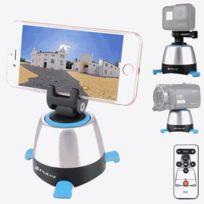Wewoo - Pour Smartphones, GoPro, Caméras Dslr bleu Électronique Rotation  360 Degrés Tête Panoramique 12604bdd3b77