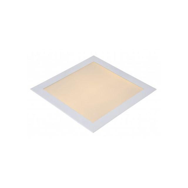 Lucide Brice-led - Spot Encastrable - Led Dim 1x30W 3000K - Ip40 - Blanc