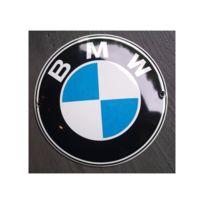 Universel - Mini plaque emaillée bmw logo rond tole email deco garage
