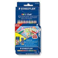 Staedtler - ÉTUI De 6 Crayons De Couleur Noris Club & Feutre De Coloriage