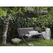 balancelle de jardin achat balancelle jardin pas cher rueducommerce. Black Bedroom Furniture Sets. Home Design Ideas