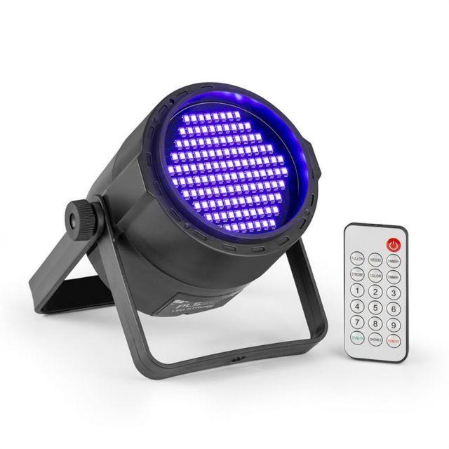 Smd Blacklight Leds 120 X 3528 Batterie Pls20 Lampe Uv Télécommande Par Ivb76gYfym